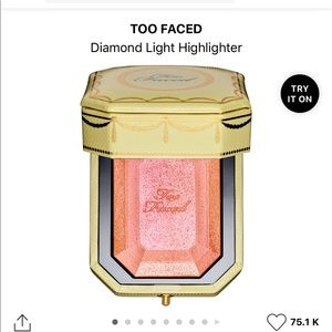 Too Faced Canary Diamond Fire Highlighter